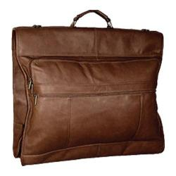 David King Leather 203 42in Garment Bag Cafe