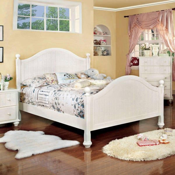 Furniture Of America River Stream White Cottage Style