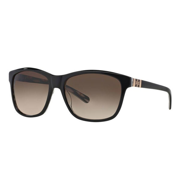 Tory Burch Women's TY 7031 910/13 Sunglasses - Black - Large. Opens flyout.