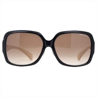 Jimmy Choo Women's Beatrix/S 0Y3X/HD Dark Smoke Round Sunglasses