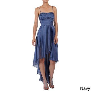 DFI Women's Sleeveless High-low Evening Gown (More options available)