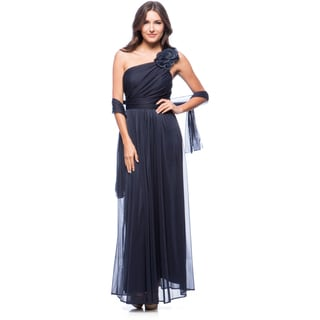 DFI Women's Long Evening Gown - Free Shipping Today - Overstock ...