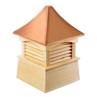 Coventry Wood Cupola with Copper Roof 18 x 24-inch by Good Directions