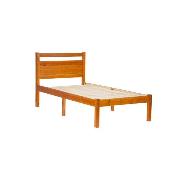 Bronx Pine Wood Twin-size Platform Bed