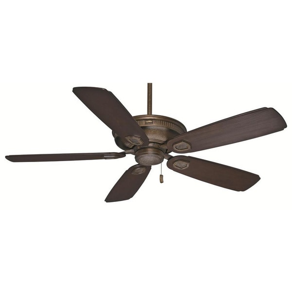 """Casablanca 60"""" Heritage Outdoor Ceiling Fan with Pull Chain, Wet Rated"""