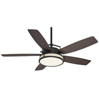 Casablanca 56-inch Caneel Fan with Whitewashed Distressed Oak Blades