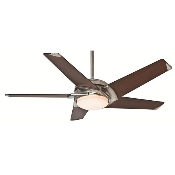Casablanca 54-inch Stealth Fan with Five Dark Blades - 54""
