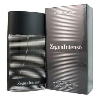 Ermenegildo Zegna Intenso Men's 3.4-ounce Eau de Toilette Spray