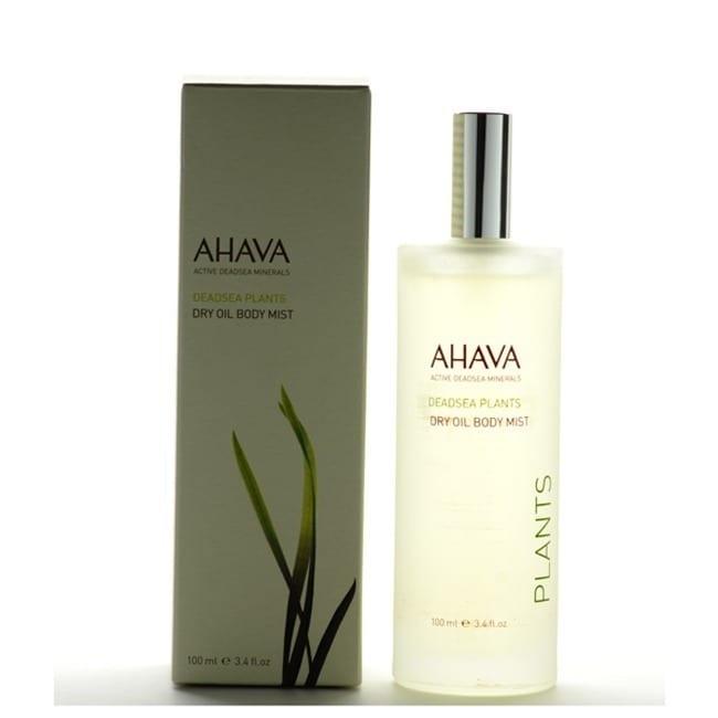 AHAVA Deadsea Plants Dry Oil 3.4-ounce Body Mist (Blue), ...
