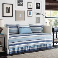 Stone Cottage Fresno Blue 5-piece Quilted Daybed Cover Set