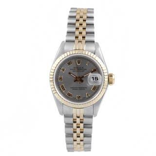Pre-Owned Rolex Women's Two-tone Fluted Bezel Jubilee Bracelet Watch|https://ak1.ostkcdn.com/images/products/9294597/P16456730.jpg?impolicy=medium