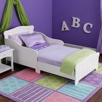 KidKraft Nantucket White Wood Toddler Bed