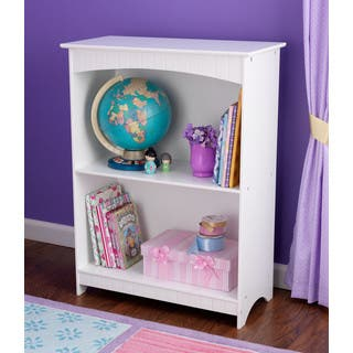 KidKraft Nantucket White 2 Shelf Bookcase