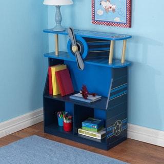 KidKraft Blue Airplane Bookcase