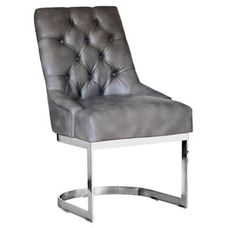 Sunpan 'Club' Hoxton Nobility Bonded Leather Dining Chair