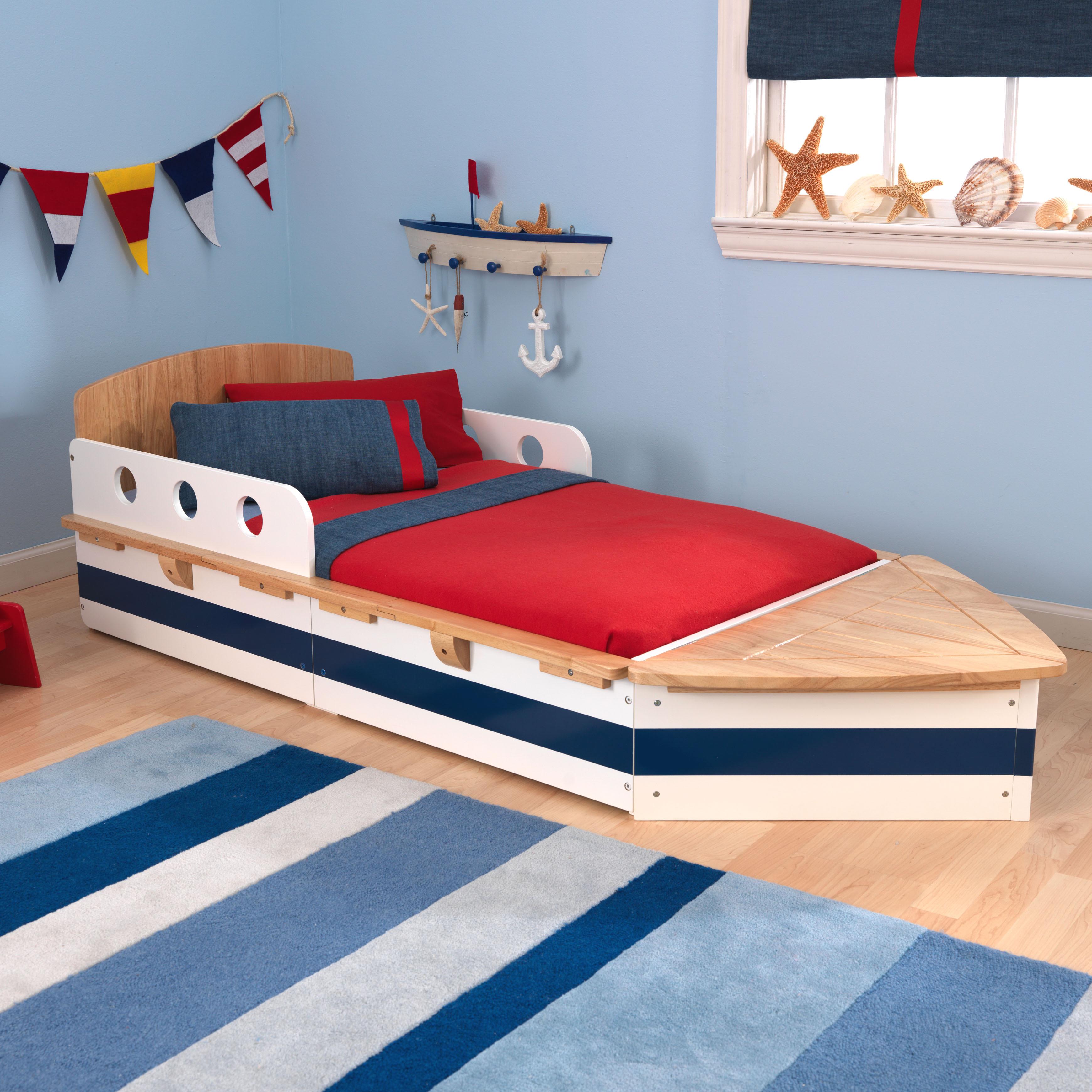 size 40 b377d bdb60 KidKraft Boat Toddler Bed