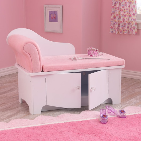Shop Kidkraft Princess Chaise Lounge Free Shipping Today