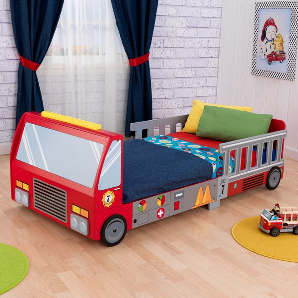 15 Year Old Boy Bedroom: KidKraft Fire Truck Toddler Bed