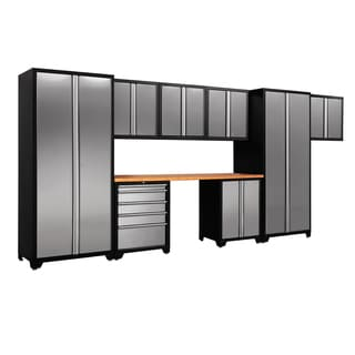 NewAge Products Pro Stainless Steel 9-piece Cabinetry Set
