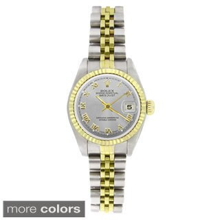 Pre-owned Rolex Women's 69173 Datejust Two-tone 18k Gold and Stainless Steel Watch