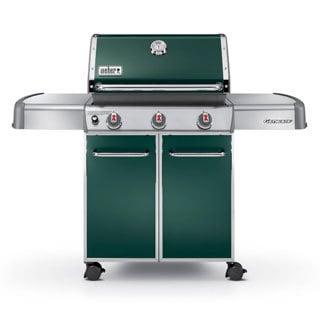 Weber 6517001 Genesis E-310 60-inch Green Freestanding LP Gas Grill