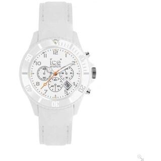 Ice-Watch CHM.WE.B.S.12 White Silicone Quartz Watch