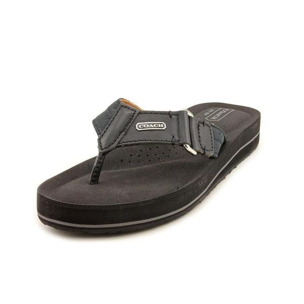 ec8b2943b167 Shop Coach Women s  Jada  Synthetic Sandals (Size 6.5 ) - Free ...