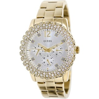 Guess Women's U0335L2 Goldtone Stainless Steel Quartz Watch