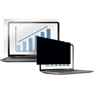 """Fellowes PrivaScreen Blackout Privacy Filter - 14.0"""" Wide Crystal Cle"""