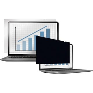 """Fellowes PrivaScreen Blackout Privacy Filter - 12.5"""" Wide"""
