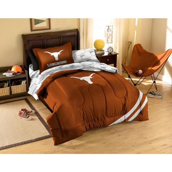 The Northwest Company University Of Texas Longhorns 7 Piece Bed In A