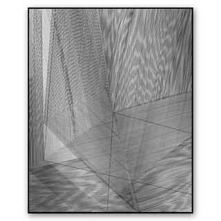 Gallery Direct Rupert Santos's 'Corner Shadow' Metal Art