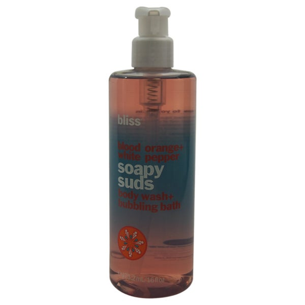 Bliss 16-ounce Blood Orange and White Pepper Soapy Suds