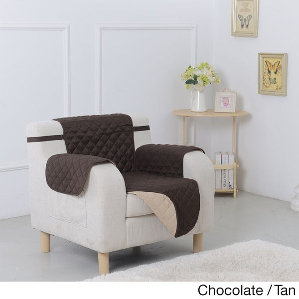 Reversible Microfiber Chair Furniture Protector   Free Shipping On Orders  Over $45   Overstock.com   16459135