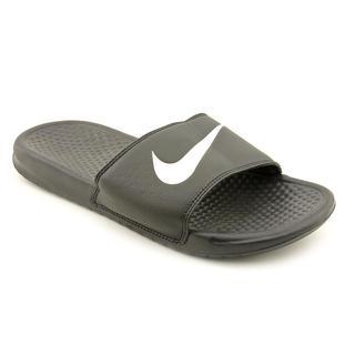 Nike Men's 'Benassi Swoosh' Man-Made Sandals