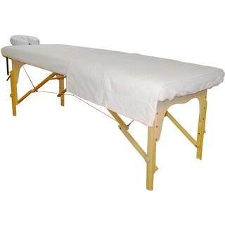 Sivan Health and Fitness Massage Poly Cotton Sheet Set