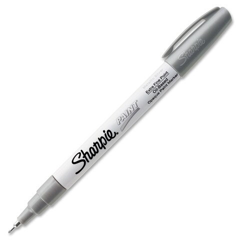 Sharpie Extra Fine Point Oil-Based Silver Paint Marker