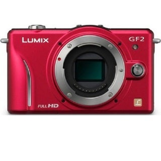 Panasonic Lumix DMC-GF2 12 MP Micro Four-thirds Format Camera