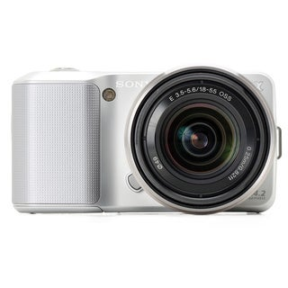 Sony DSLR-NEX3 Silver Digital Camera (Body Only)