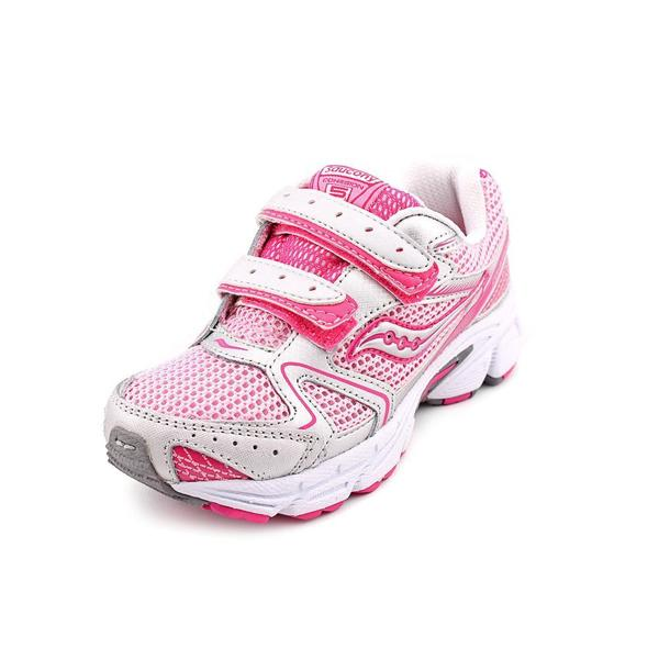 568441bfda23 Shop Saucony Girl (Youth)  Cohesion 5 HL  Mesh Athletic Shoe (Size ...