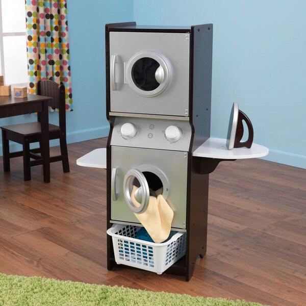 KidKraft Espresso Laundry Play Set