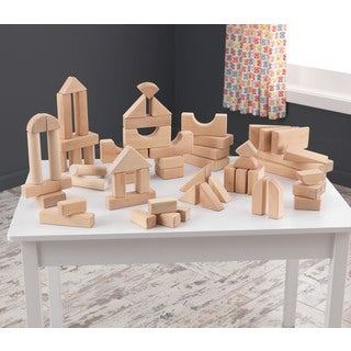 KidKraft 60-piece Wooden Block Set