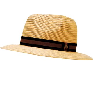 Garden Outfitters Men's Light Brown Braided Dolph Hat