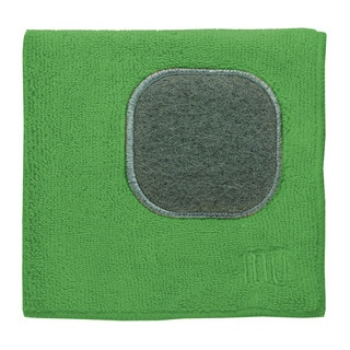 MUkitchen Wheatgrass Microfiber Dishcloth with Scrubber