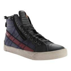 Men's Diesel D-Velows D-String Plus Mid Sneaker Anthracite/Peacoat Blue