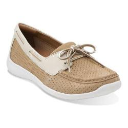 Women's Clarks Arbor Opal Tan Leather