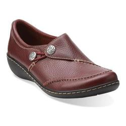 Women's Clarks Ashland Lane Burgundy Leather