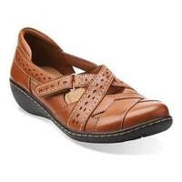 Women's Clarks Ashland Spin Tan Leather