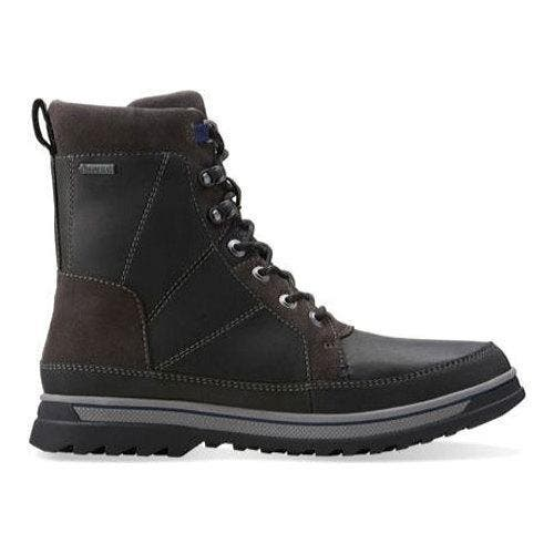 ca05867ca83 Clarks Men's Boots Ripway Peak GORE-TEX Black Leather | Overstock.com  Shopping - The Best Deals on Boots