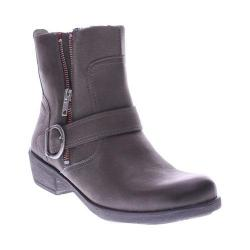 Women's Spring Step Chickadee Ankle Boot Gray Leather